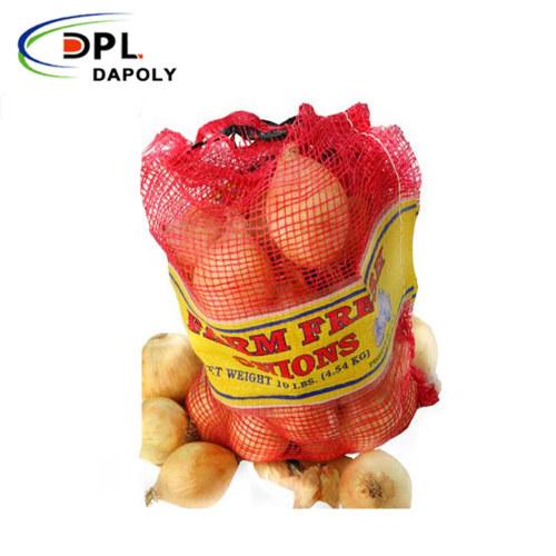 Packing Rolls Vegetable Potato Onion Packages Sack pp tubular Mesh Bag