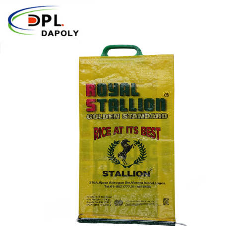 feed packaging 50lb corn pig feed plastic poultry woven polypropylene pp feed bags
