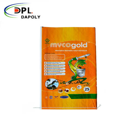 High quality colored printed pp woven sacks/bags used for packaging cement/fertilizers/flour etc