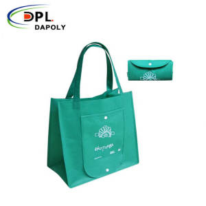 Customized Eco Friendly Die Cut Promotional Shopping Non Woven Fabric D Cut Non-Woven Bags