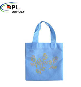 Shopping bags with customized logo degradable non woven fabric carrying bag