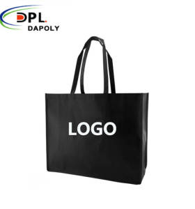 New design 100% degradable non woven shopping bags with logo
