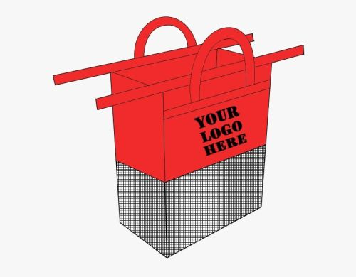 PP Non-woven Fabric trolley shopping bag for supermarket