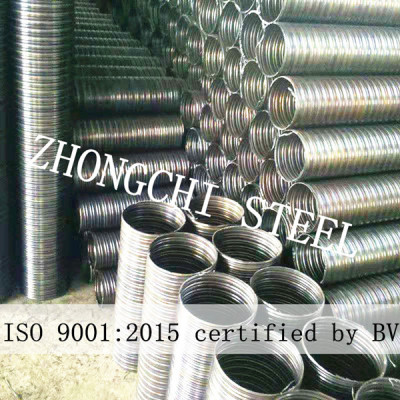 prestressed metal corrugated pipe