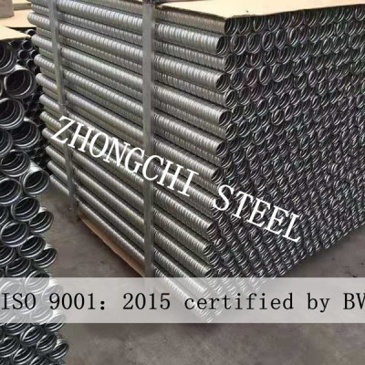Prestressed Steel Corrugated Tube