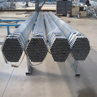 BS 1387 Class B Gi Pipe Pre Galvanized Steel Pipe