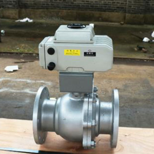 Electronic ball valve details
