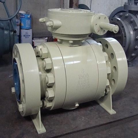 Ball valve supplier_Forged Trunnion Ball Valve