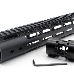 New NSR Style Lightweight 12 inches One Piece Style AR-15 System M-LOK Free Float AR15 Handguard