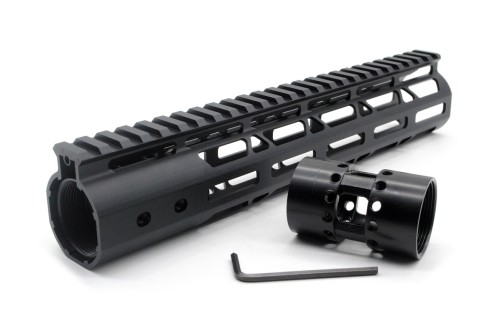 New NSR Style Lightweight 12 inch One Piece Style AR-15 System M-LOK Free Float AR15 Handguard