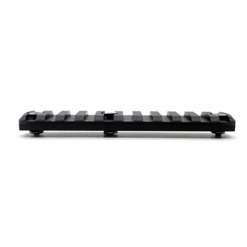 11 slots 4.61'' CNC Aluminum Picatinny Rail for KeyMod Handguard rail System
