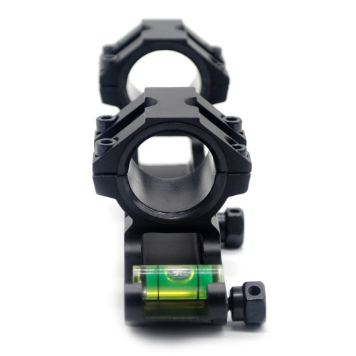 Scope Mounting Rings with Bubble Level, Dual Mount Adapter Ring for 20mm Picatinny Weaver Rail