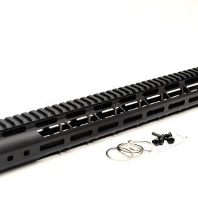 New NSR Style Lightweight 15 inches One Piece Style AR-15 System M-LOK Free Float AR15 Handguard