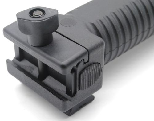 Trirock Quick Deploy Bipod Grip Fits Picatinny Weaver 20mm 22mm Rail