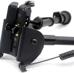 Trirock 9-13 Inches Five-Settings for different lengthBipod for Tactical Rifle with Sling Stud (without Adapter)