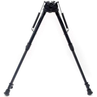 Trirock Pivot Swivel Title Bipod with Posi-Lock Adjustable Spring Loaded 13 to 27 Inch with quick retraction button