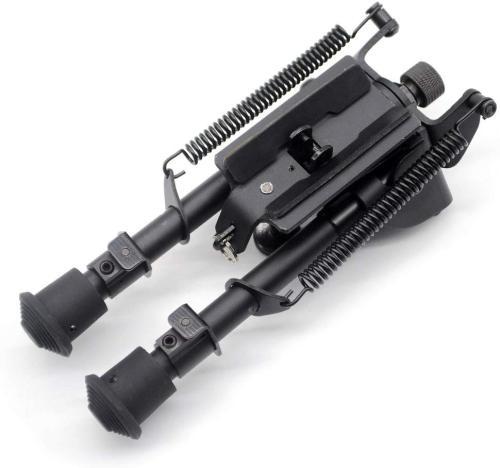 Trirock 6-9 Inches Five-settings Swivel Pivot Tiltable harris Bipod for hunting rifle