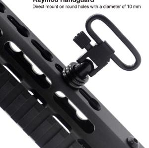 Trircok QD Adapter Sling Stud to Picatinny Rail for Sling Swivel