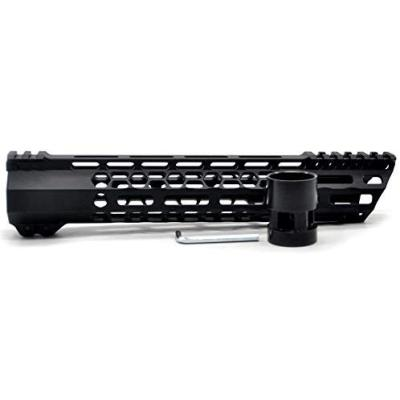 New Clamp style 11 inches black M-LOK free float AR15 M16 M4 rifle handguard with a curve slant cut nose fit .223/5.56 rifles