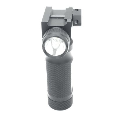 Trirock LED red laser Flashlight Foregrip Torch Light Combo grip torch with Pressure Switch & 20mm Picatinny Rail