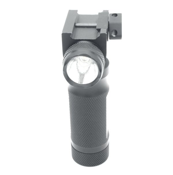 Trirock LED green laser Flashlight Foregrip Torch Light Combo grip torch with Pressure Switch & 20mm Picatinny Rail