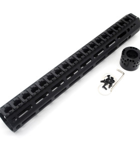 Trirock Top grade M46 large diameter free float M-LOK AR15 AR-15 MLOK handguards fits .223/5.56 rifles
