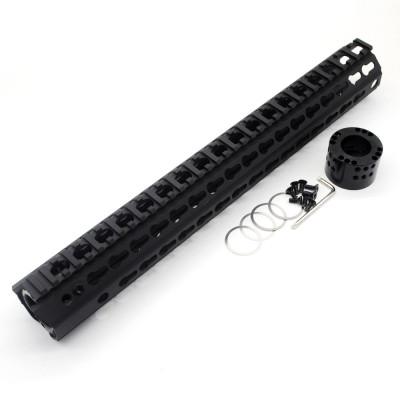 Trirock Top grade M46 large diameter free float keymod AR15 AR-15 handguards fits .223/5.56 rifles