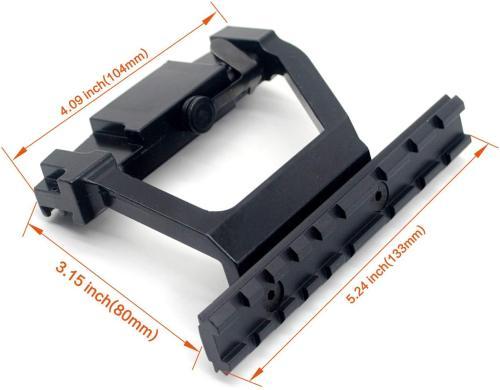 Tactical AK 47 Side Scope Mount for 20mm Picatinny Weaver Rail AK-47 handguard