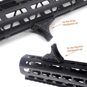 Forward Universal Hand Stop for both KeyMod & M-LOK MLOK Tactical Handguard