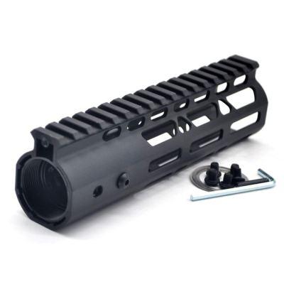 New NSR Style Lightweight 7 inch One Piece Style AR-15 System M-LOK Free Float AR15 Handguard