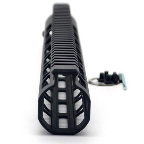 New NSR Style Lightweight 13.5 inch One Piece Style AR-15 System M-LOK Free Float AR15 Handguard