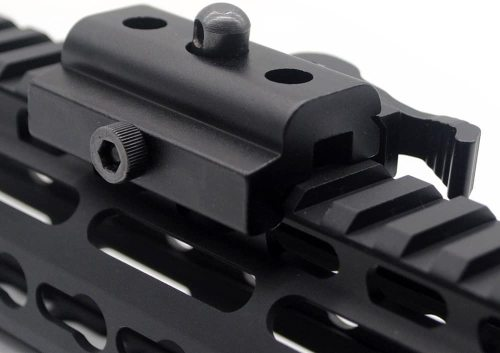 Aplus Tactical Outdoor Quick Detachable Cam Lock Bipod Sling Adapter for 20mm Picatinny Weaver Rail