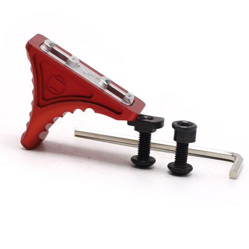 Forward Universal Red Hand Stop for both KeyMod & M-LOK MLOK Tactical Handguard