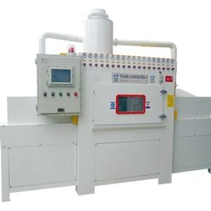 Conveyor type automatic sandblasting machine