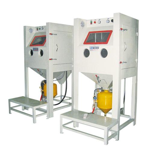 Manual rust removal and oxidation sandblasting machine