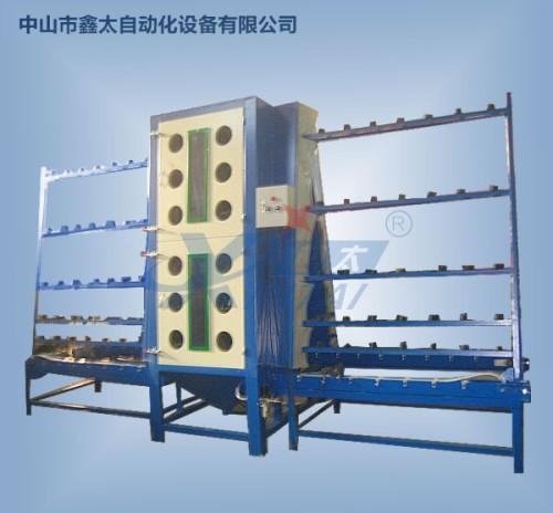 Manual glass sand blasting machine