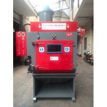 XT100-5A crawler type sand blasting machine