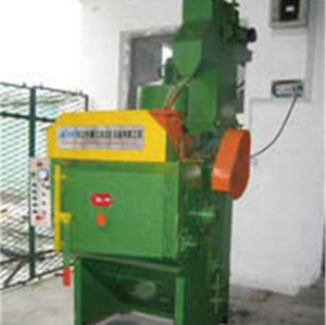 Small shot blasting machine