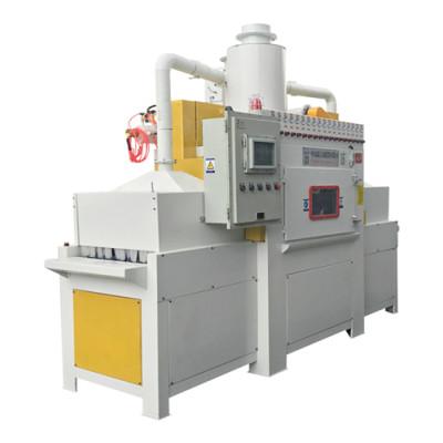 Tracked automatic sandblasting machine