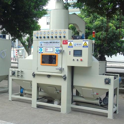 XT-8060-8A conveyor automatic sand blasting machine