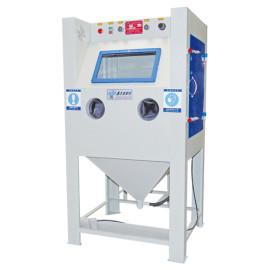 Temperature controlled manual sand blasting machine