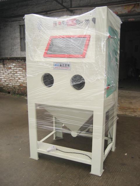 Small manual abrasive sanding machine