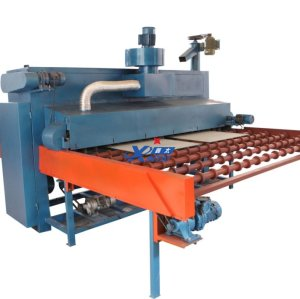 Fully automatic glass sandblasting machine