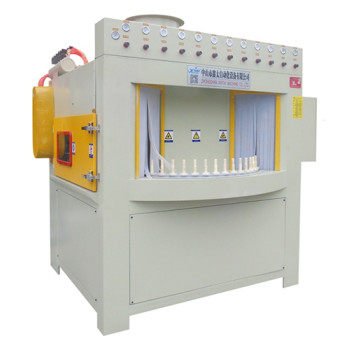 40 station automatic continuous sand blasting machine