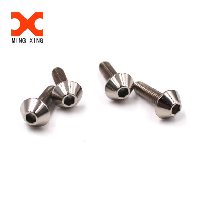 Customized design special truss hexagon stainless steel machine screw