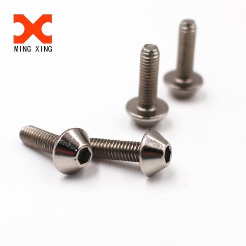 Customized design special truss hexagon stainless steel machine screw