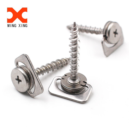 For Medical Equipment Flat Head Stainless D Ring Screws