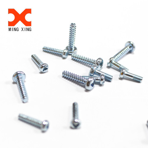 A2 A4 stainless steel triangle slotted pan head self-tapping screw