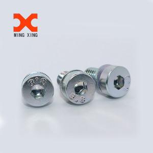 Hexagon socket head cap screws with washer