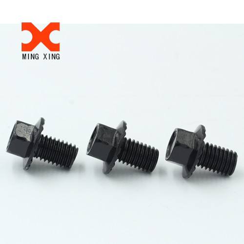 white zinc plated hex head bolts and hex nuts DIN931 DIN933 DIN934
